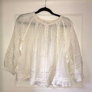 Never worn Soeur white/ivory blouse